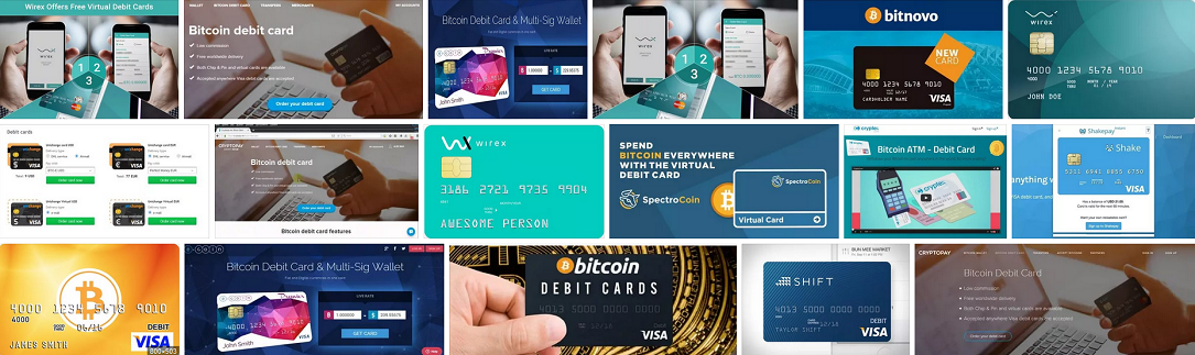 Virtual Bitcoin Debit Cards